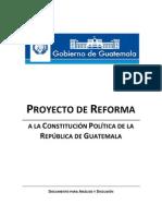Proyecto+de+Reforma+a+La+Constitucion+Politica