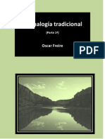 La analogía tradicional - (Parte 1ª)  Oscar Freire