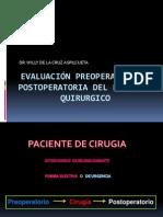 01. Evaluacion Preoperatoria - Dr de La Cruz 14-06-12