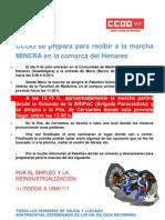 Informacion Marcha Minera 8 de Julio
