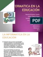 La Informatica en La Educacion