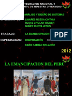 La Emancipacion Del Peru