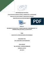 Ensayo de La Obsolescencia MARJORIE LEON RODRIGUEZ