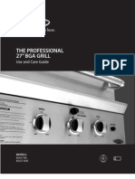 DCS BGA27-BQR Manual