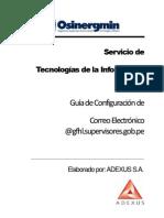 Guia de Configuracion de Correo Electronico - Dominio GFHL.supeRVISORES.gob.PE