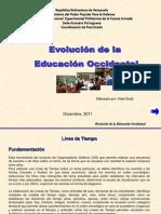 Evolución de la Educación occidental