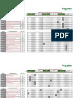 Calendario General Cursos 2012