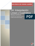 U4-Interpolacion lineal y cuadrática