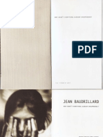 Baudrillard, Jean - Why Hasnt Everything Already Disappeared