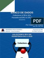 Slide JSP e Banco de Dados
