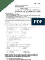 Chn Comprehensive Examination 2011-Print