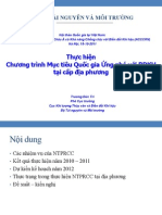 03. Mr. Truong Duc Tri_MONRE_VN-Thực hiện Chương trình Mục tiêu Quốc gia ứng phó với BĐKH tại cấp địa phương