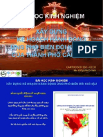 04. Mr. Ky Quang Vinh_CT CCCO_VN-Bài học kinh nghiệm Xây dựng kế hoạch hành động ứng phó BĐKH của thành phố Cần Thơ