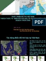 07. Ms. Tran Thi Lan Anh_MOC_VN-Phát triển đô thị Việt Nam_Thách thức từ Biến đổi khí hậu và Chương trình kế hoạch thích ứng
