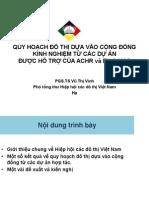 08. Ms. Vu Thi Vinh_ACVN_VN-Quy hoạch đô thị dựa vào cộng đồng_Kinh nghiệm từ các dự án được hỗ trợ của ACHR và EU&KAS