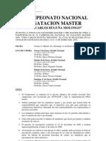IV to Nacional Natacion Master 2009