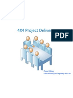 4x4 Project Delivery Outline[1]
