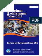 22 Panlak Uji Kompetensi Keahlian 2012