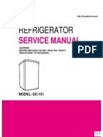 ServiceManuals\LG\Fridge\GR151SW\GR-151SW Service Manual