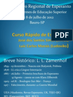Curso Rápido de Esperanto