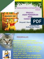 Konsep Pendidikan Awal Kanak-Kanak Di Malaysia ( PAKK)