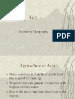 Asia Economic Geo