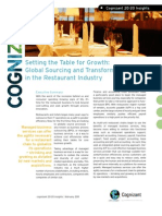 Global Sourcing and Transformation in the Restaurant Industry