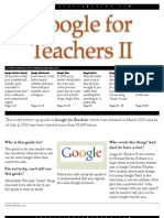 Google for Teachers II