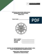 Proposal Usaha PMW UGM 2012 (BusinessIdea)