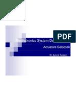 Actuator Selection