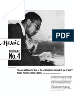 Mosaic Records Brochure No. 4