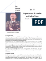 Himmler Heinrich La SS Section de Combat Antibolchevique