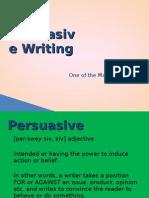 Persuasive Writing Ppt[1]