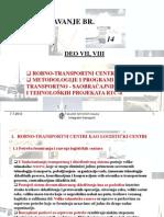 Predavanje Br. 14, II Deo Kombinovani transport