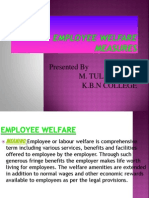 Employee Welfare mesaures ppt