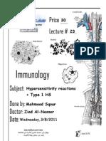 Immuno - Lec 23