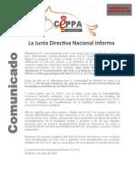 Comunicado RealCEPPA Reconocimiento 70712
