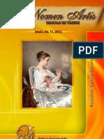 Revista de Cultura Universala Nomen Artis - Dincolo de tacere, nr. 11, 2012, luna iulie