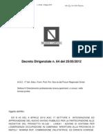 Decreto Dirigenziale Agc17 6 n 64 Del 25-05-2012[1]