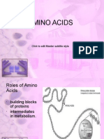 Amino Acids Ppt