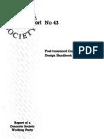 Post-tension Concrete Floor -Design Handbook