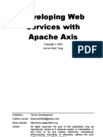 Developing Web Services With Apache Axis (1)