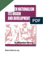 Baloch Nationalism