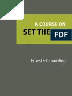 A Course on Set Theory