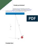 Pendul gravitaţional_a