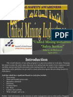 """United Mining Industries """"Health Safety and Environment General Rules"""""""