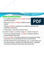 Pre Education in US Seen.