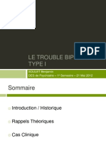 TBP I (Trouble Bipolaire de Type 1)
