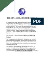 Silva Method Book