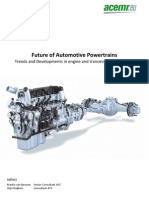 Future of Automotive Powertrains